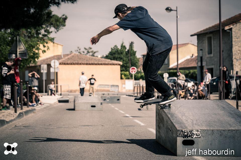 Old Skullz Skateboard Bs Smith