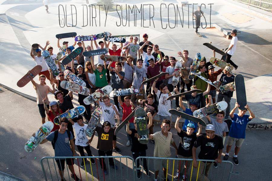 Old DIrty Summer Contest CREW