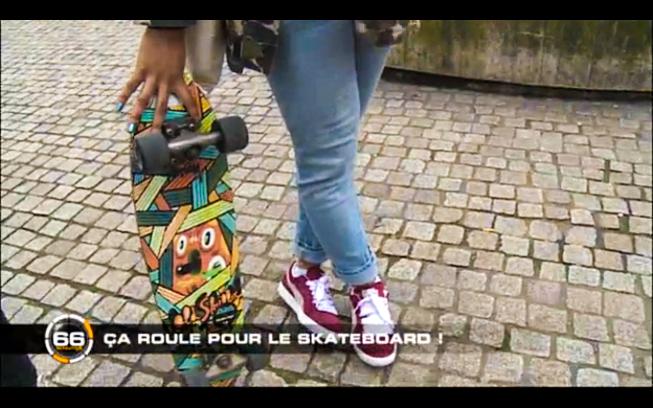 Cruiser  Old Skullz Skateboards sur M6