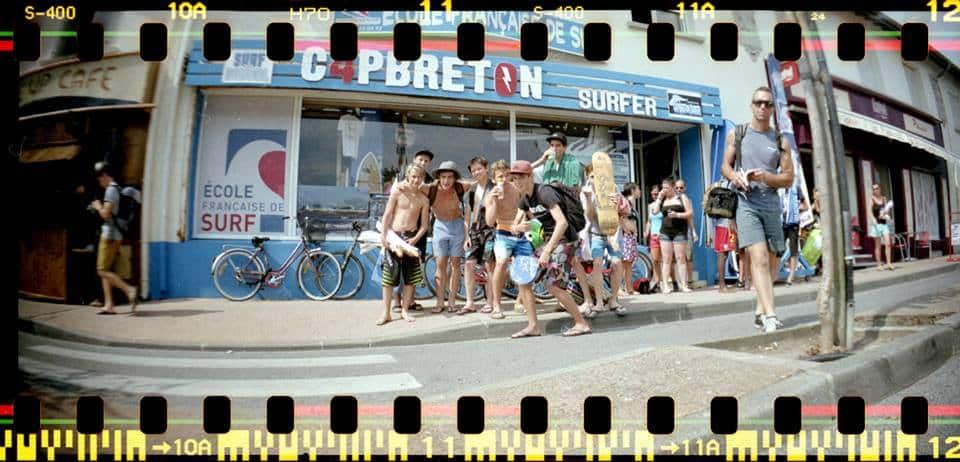 ODST surfer team