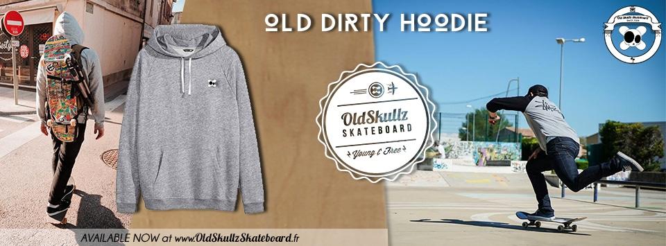 presente web hoodie gris
